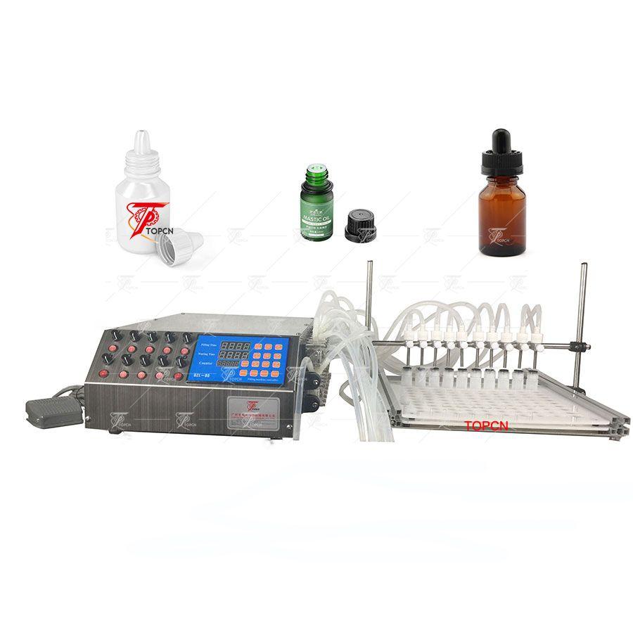 10 nozzles peristaltic pump filling machine