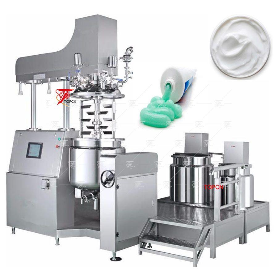 100LCream Vacuum Homogenizer
