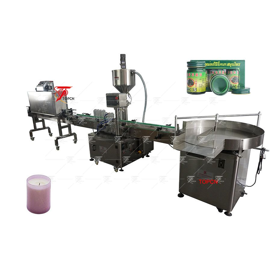 Automatic Hot Filling Machine with Shrink Bottle Machine