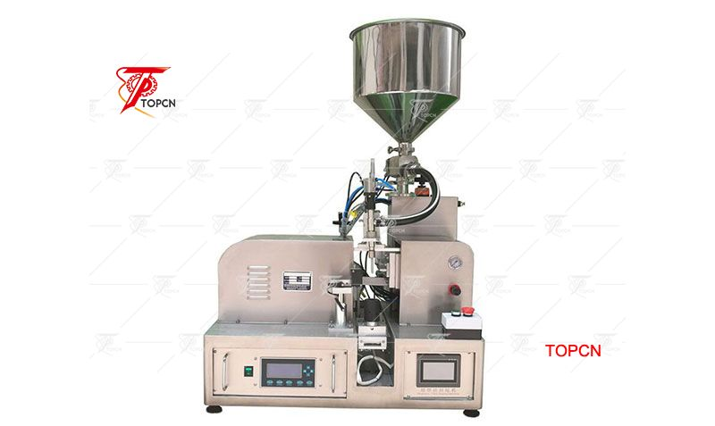 Ultrasonic Soft Tube Filling and Sealing Machine