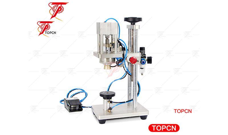 Semi Automatic Perfume Capping Machine