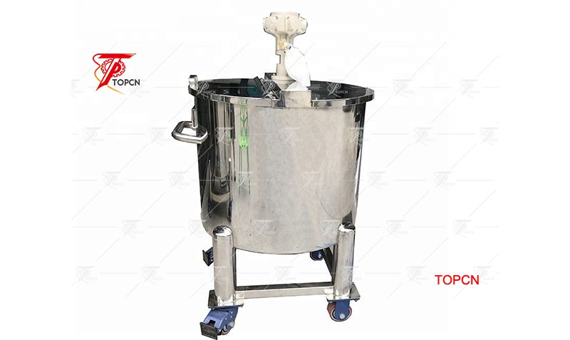 Open Top 200L Perfume Mixer Machines Pneumatic Mixer