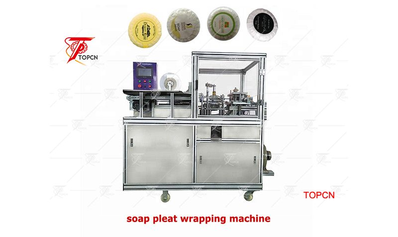 High Quality Fully Automatic Round Toilet Soap Pleated Wrapping Machine Price
