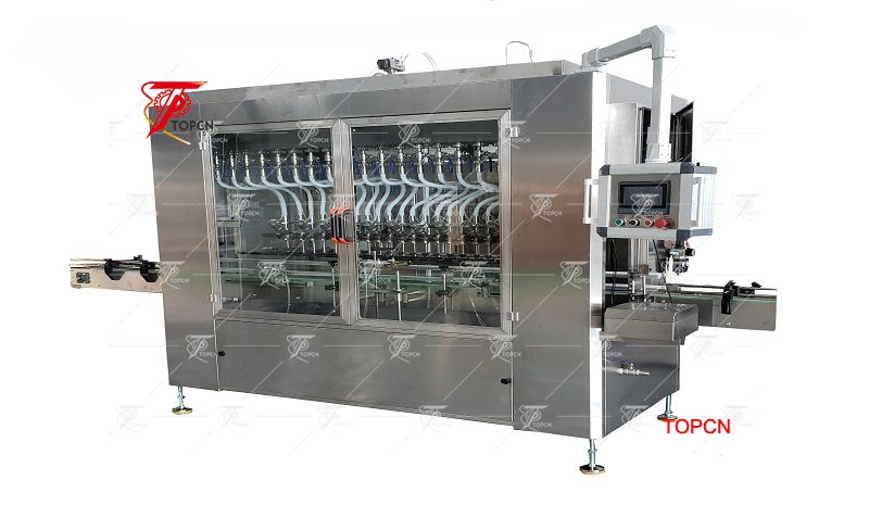 Automatic Shampoo Bottle Filling  Capping Machine  Labeling Machine Made In China