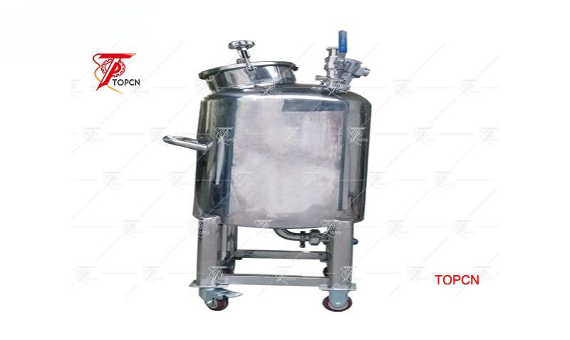 Top Close 100L Essential Oil Perfume Tank Pneumatic Type
