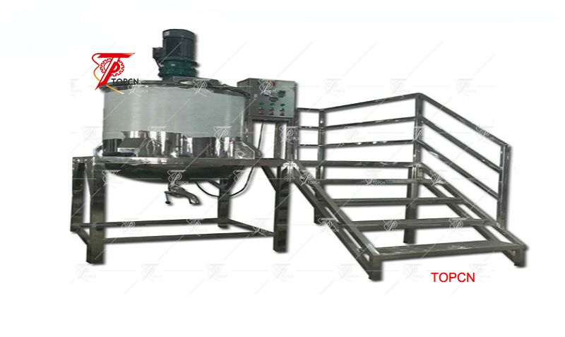 Stainless Steel Blending Tank Without Heating Heater Shampoo Liquid Soap Mixer