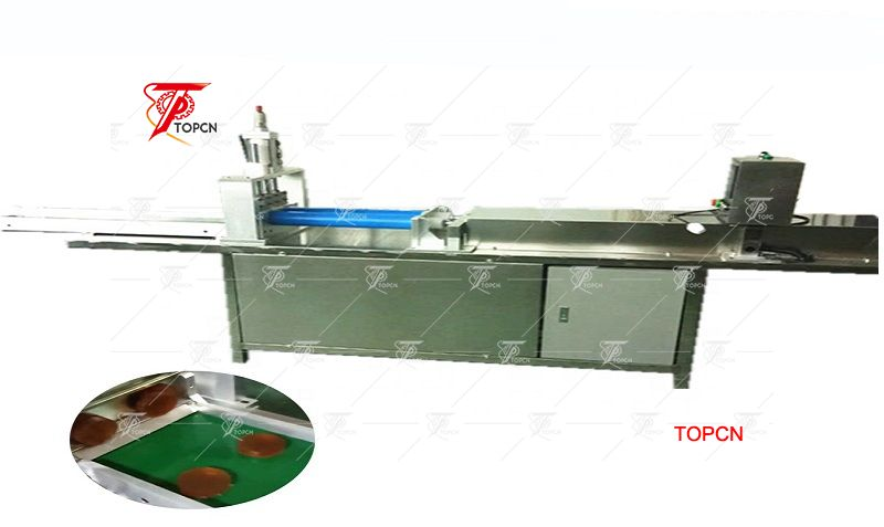 pipe cooling soap pushing and cutting machine  round pipe moulding soap cutter machine