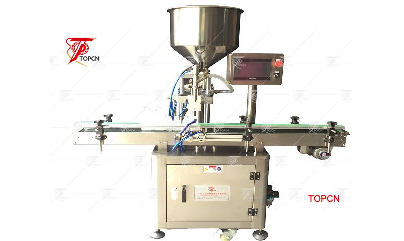 Single head Automatic plastic bottle 10-250ml pneumatic liquid cream filling machine