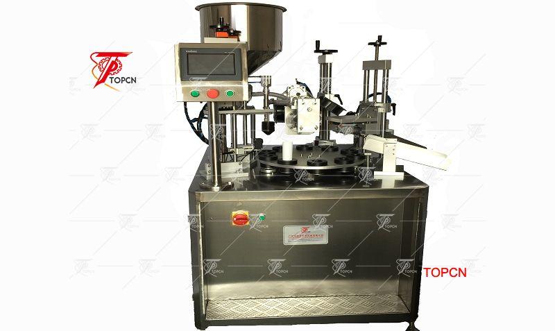 Automatic Ultrasonic Tube Filling and Sealing Machine