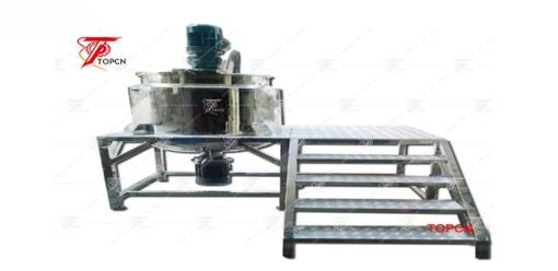Liquid Soap Mixing Machine:Effect Of Stirring Speed On Emulsification