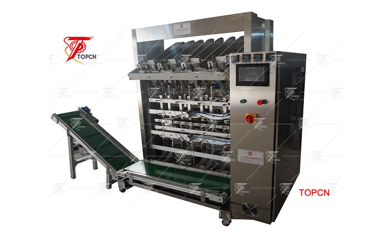 GMP stainless steel 4 channeles facial mask filling making machine