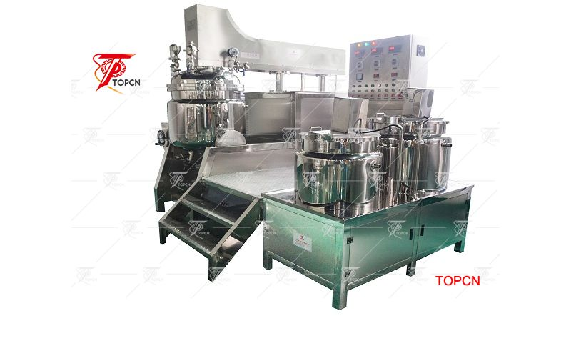 200L Vacuum Emulifying Mixer Homogenizer Machine for Cosmetic Cream