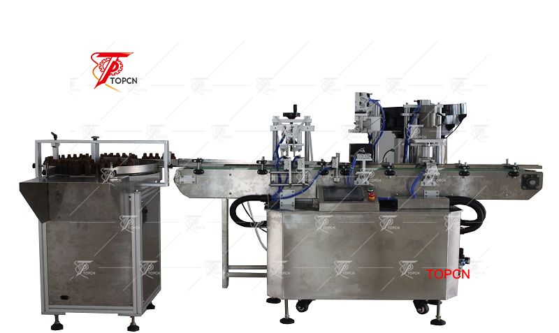 Automatic 5-30ml dropper bottle filing capping machine manufacturer