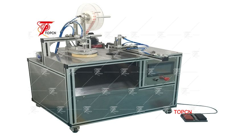TPSW-06 Manual automatic hotel bar soap wrapping machine manufactory