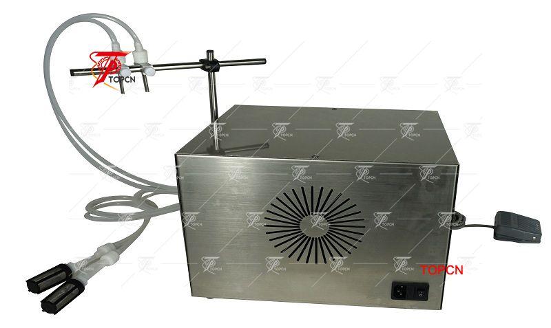 2 Heads Perfume Essential Oil Peristaltic Pump Liquid Filling Machine