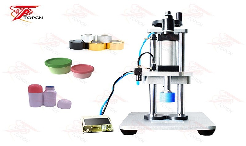 Semi Automatic Press Capping Machine