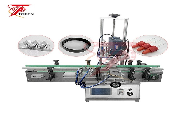 Desktop Automatic Glass Plastic Bottle Capping Machine