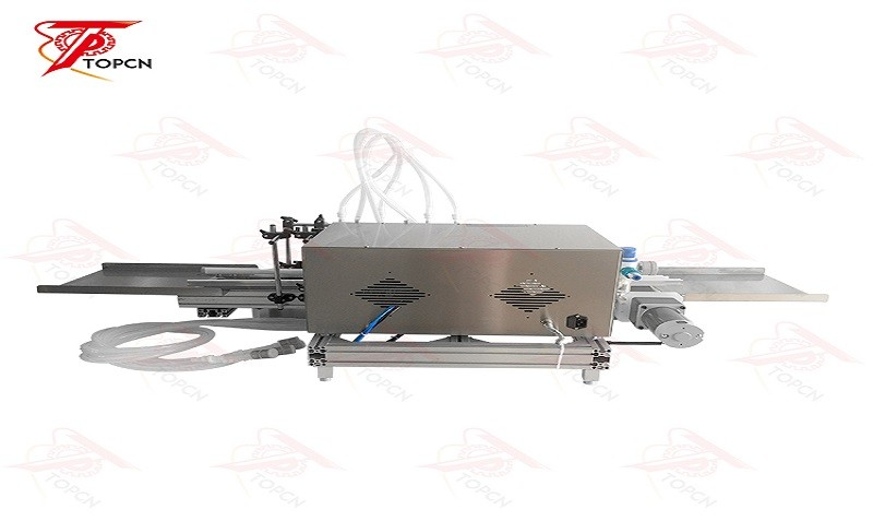Automatic desktop magnetic pump liquid filling machine