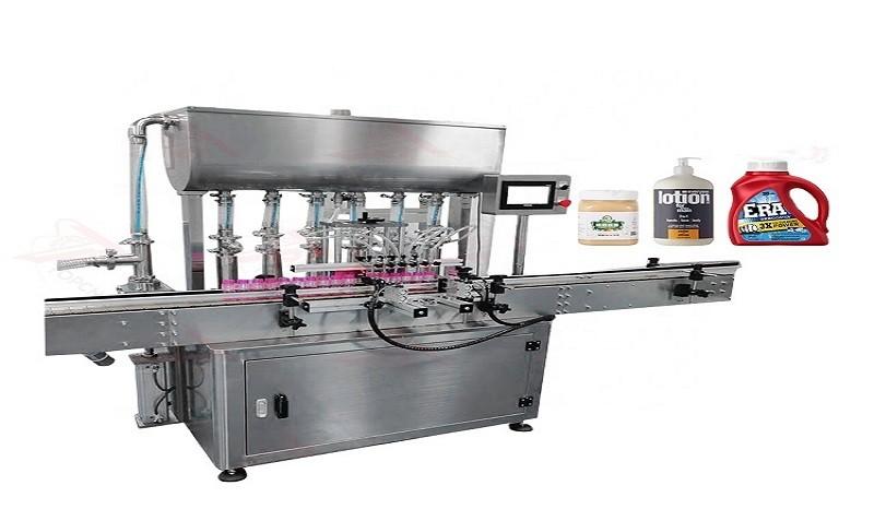 TAFM-4PM Automatic 1/2/4/6/8 Nozzles Paste Filler Honey Shampoo Cream Paste Filling Machine