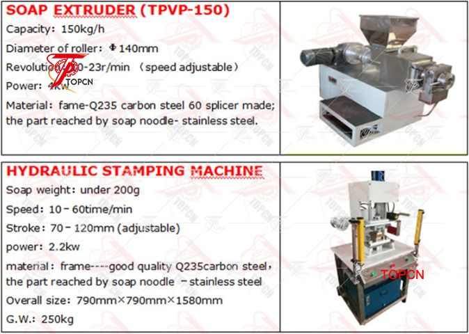 100-150kg Soap Extruder Machine