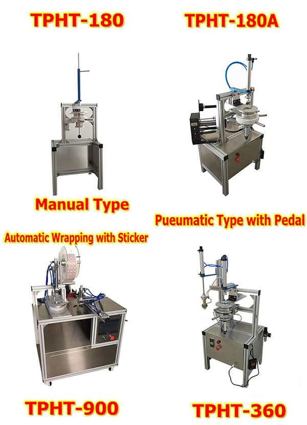 Manual Soap Pleat Wrapping Machine