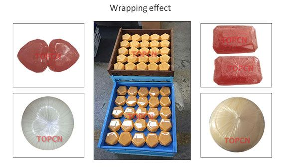 Oil Soap Wrapping Machine