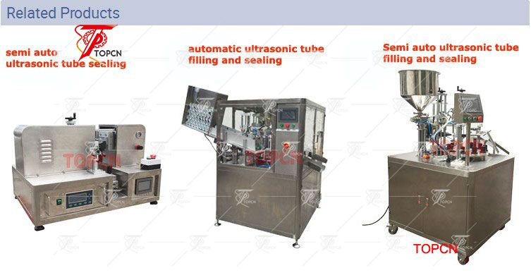 Ultrasonic Soft Tube Filling and Sealing Machine