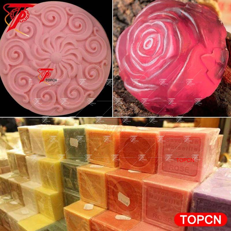 Handmade production equipment bar bath soap making soap press stamping machine