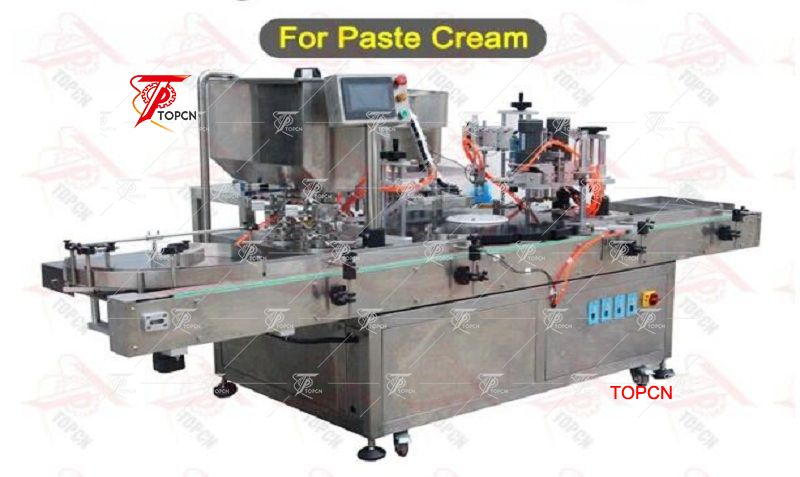 Automatic injection vial filling stoppering and capping machine
