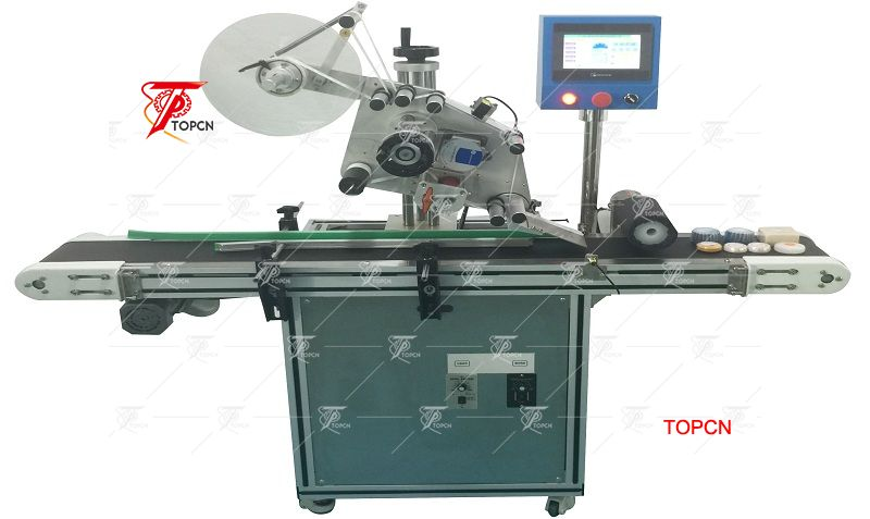 Automatic soap labeling machine hand soap sticker packaging machine