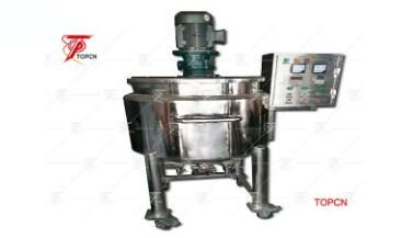 Stainless Steel Open Top Mixer