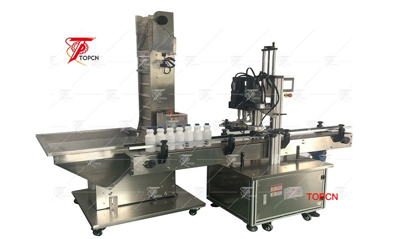 Automatic Linear Lug Capping Machine