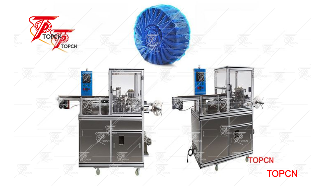 Automatic Round Soap Pleated Wrapping Machine